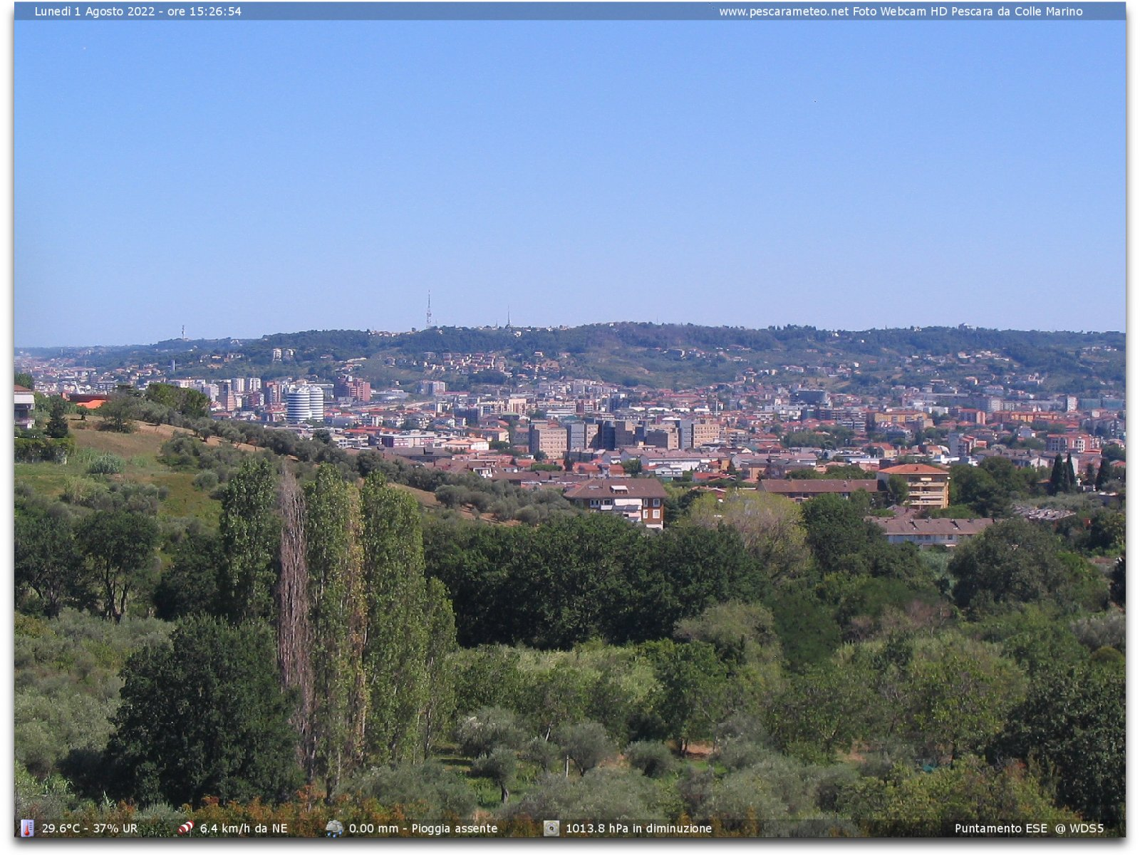Webcam di Pescara (PE)